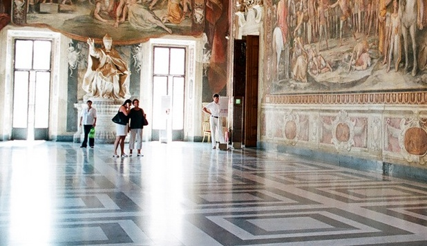 Skip the line at the Vatican Museum and the Sistine Chapel.